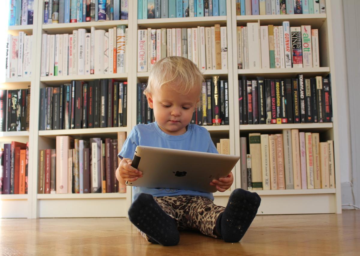 Tage och iPaden, oktober 2011